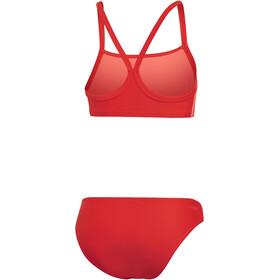 adidas Fit 3-Stripes 2 Piece Bikini Women, active red